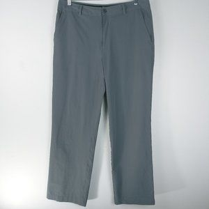 Under Armour Gray Golf Athletic Pants 34/32